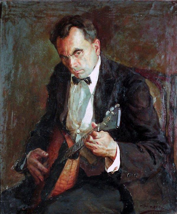 People's Artist of Mordovian ASSR L.I. Voinov, 1950