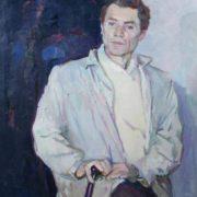 People's artist Mikhail Bozhiy. 1961