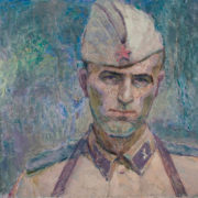 Todua, a soldier. 1971. Oil on canvas
