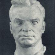 Portrait of VP Chkalov. 1953. Marble