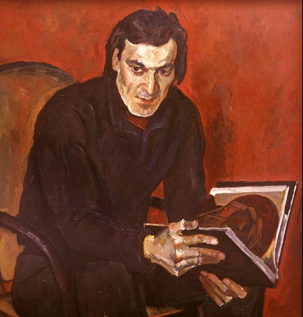Portrait of cameraman Yuri Klimenko, 1974