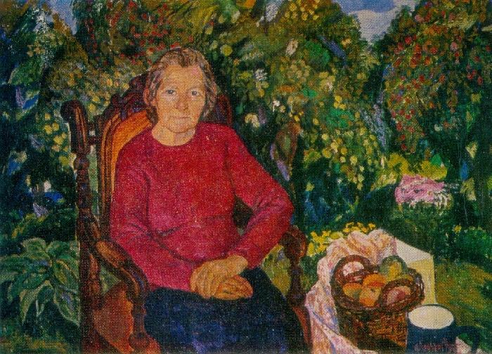 Portrait of mother. 1975
