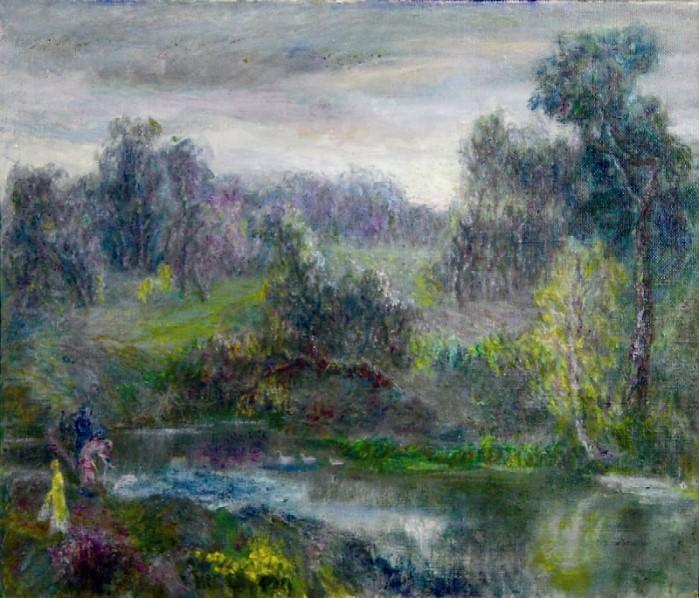 Rastorguevo pond