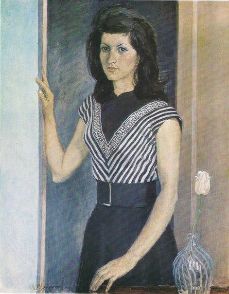 Rita's portrait. 1977