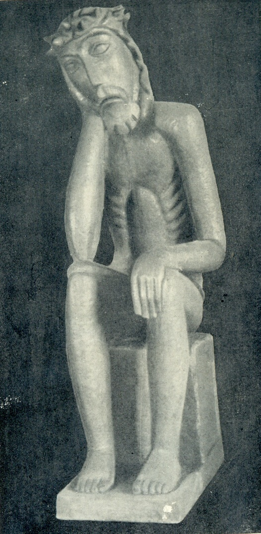 Rupintoyelis. Wood, 1937. Vilnius. State Art Museum