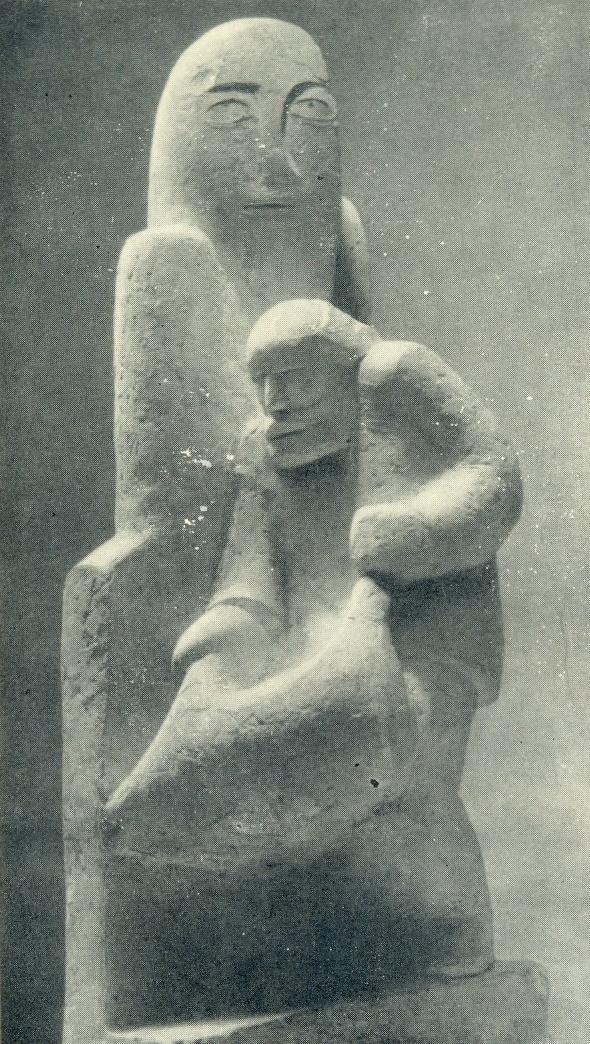 Sacrifice to the gods. Gypsum, 1934