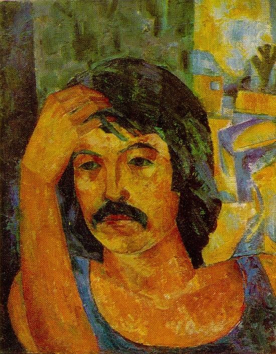 Soviet Uzbek artist Zhavlon Umarbekov (born in 1946, Tashkent of Uzbek SSR)