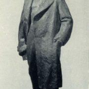 Sketch of monument to V.I. Lenin. 1965. Gypsum