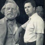 Soviet sculptor Pavel Ivanovich Gusev 1917-2010