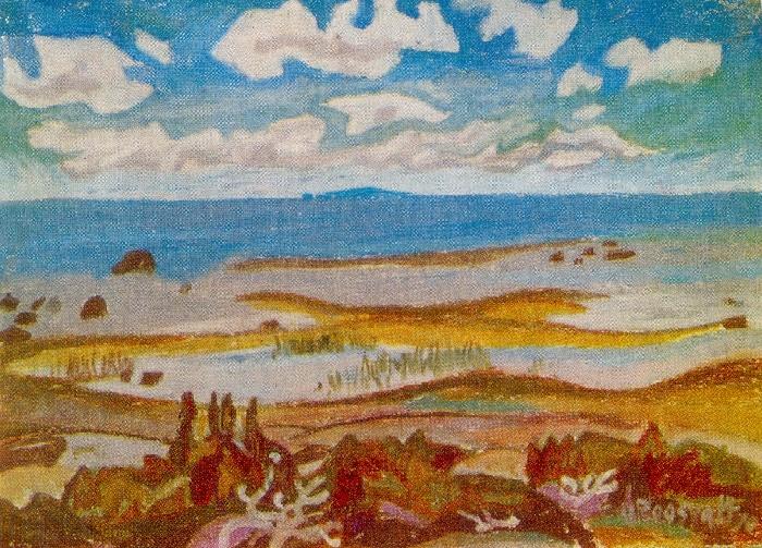 Summer sketch. 1975
