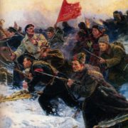 The birth of the Red Army, fragment