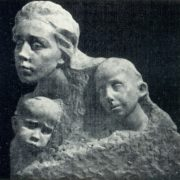 The captives. 1908. Marble