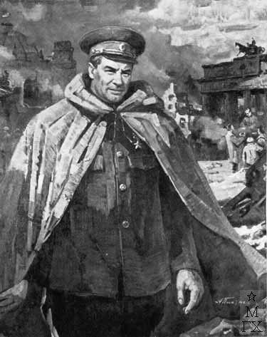 The first commandant of Berlin, M.E. Berzarin, 1975