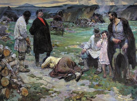 Soviet artist Vasily Andreevich Neyasov (July 14, 1926 - October 7, 1984)