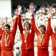The team of the USSR