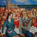 Soviet artist Boris Milovidov 1902-1975