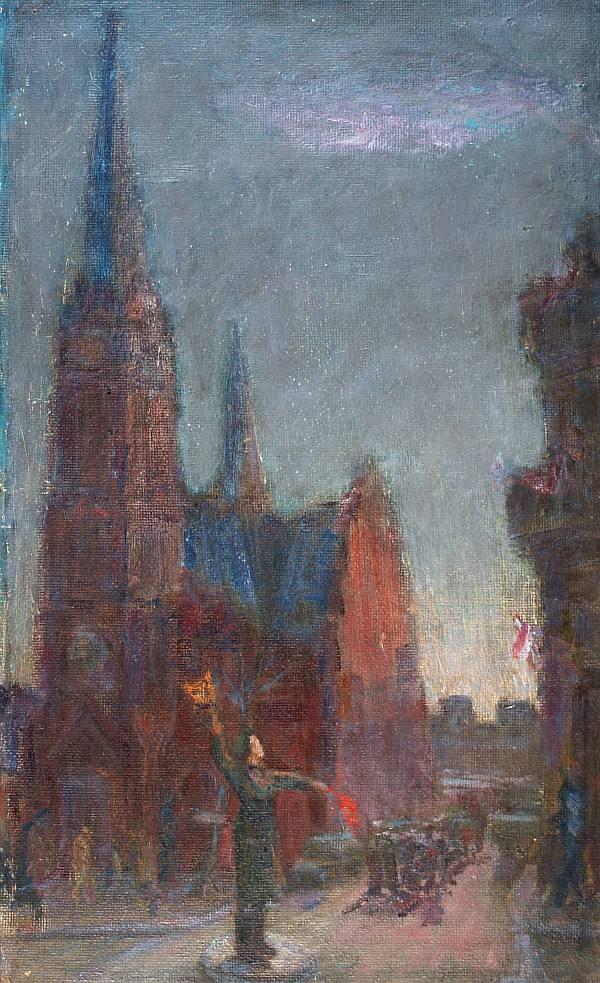 Soviet artist Noe Nestorovich Gedenidze