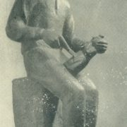 Vincukas (the Boy-carver). Gypsum, 1937-1938. Kaunas Art Museum