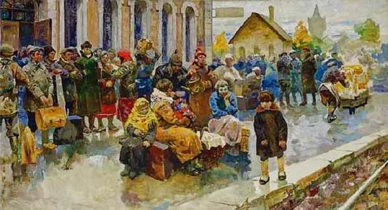 Soviet artist Vasily Andreevich Neyasov (July 14, 1926 - October 7, 1984)