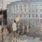Wet morning. 1962