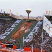 Wishing success Olympic bear