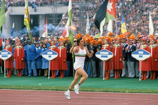 three-time Olympic champion Viktor Saneev