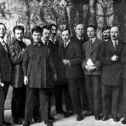 1933. I.G. Drozdov (second from the left)
