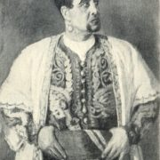 Abrar Khidoyatov as Othello, 1946