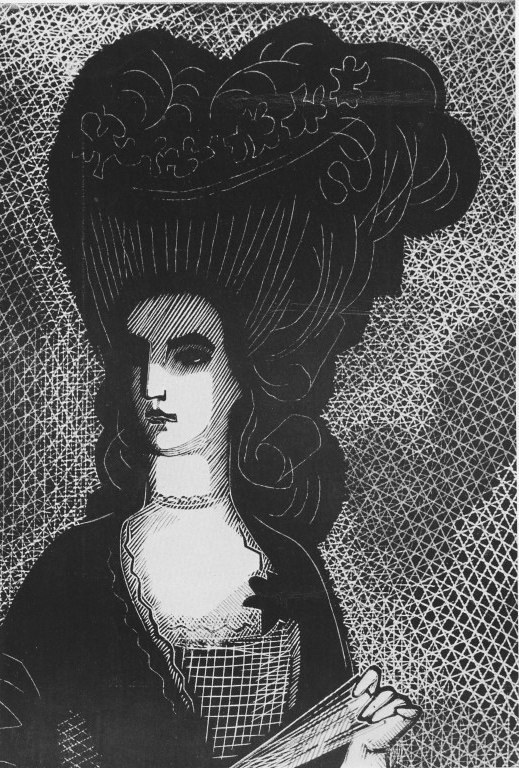 Alexander Pushkin's 'The Queen of Spades', illustration