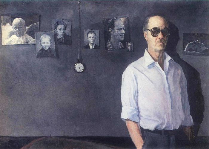 All life. Self-portrait. 1987