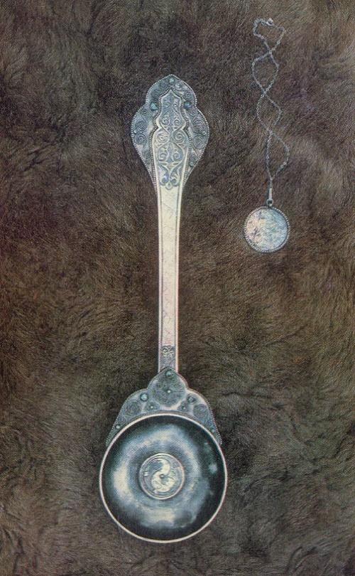 Azarpecha. Niello, filigree, stones. 1956