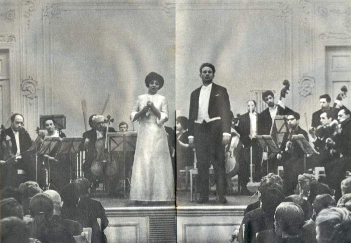 Chamber music singer Zara Dolukhanova