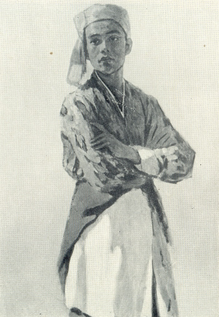Dancer Azimjan Azizov. 1963
