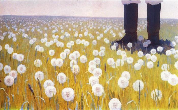 Dandelions. 1987