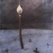 Eternal peace. Candle. 1988