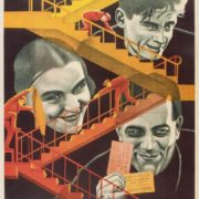 Film poster 'The House on Trubnaya' (1928)