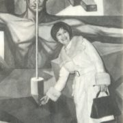 In the building of the UN Secretariat in New York, a painting by Vela Zanetti, symbolizing the creative power of mankind