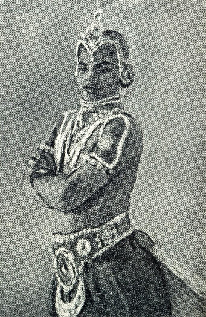Indian Dancer, 1957