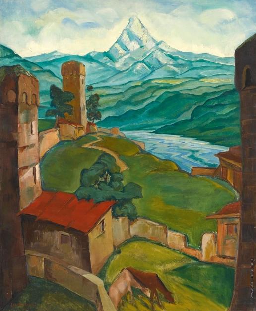 Landscape in Svaneti, 1923