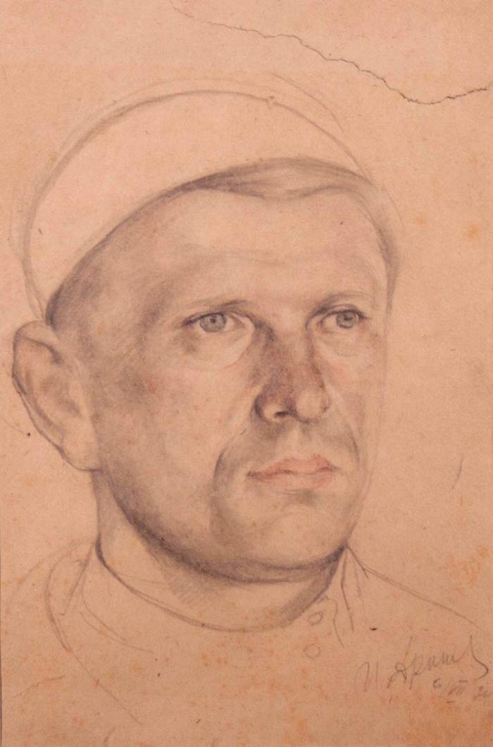 Man's portrait. 1934