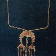 Necklace 'Zhatta'. Grain, twisted wire. 1964
