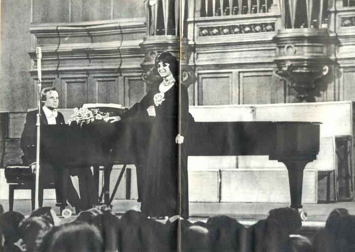 Opera singer Zara Dolukhanova