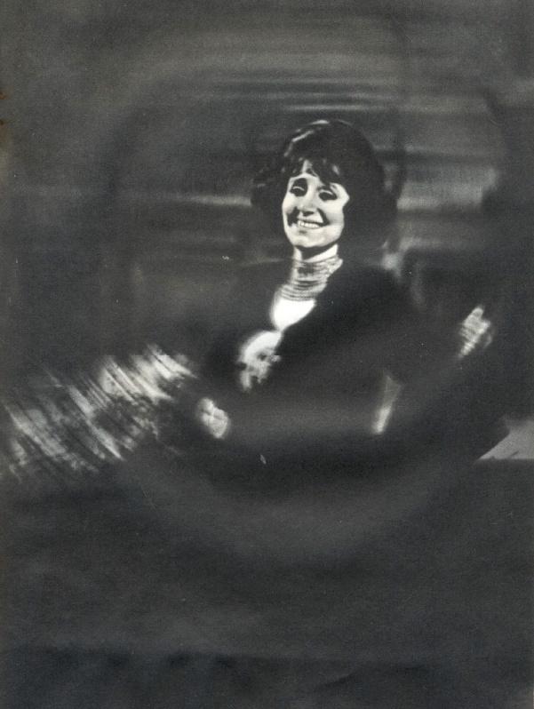Performing on the stage Zara Dolukhanova