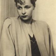 Soviet actress Vera Petrovna Maretskaya (31 July 1906 - 17 August 1978)