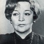 Soviet actress Vera Petrovna Maretskaya