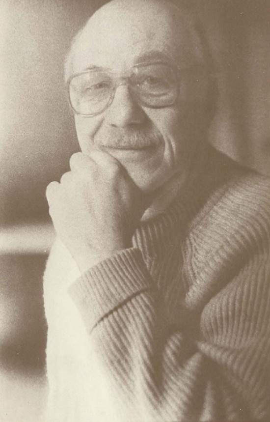 Soviet theater artist Pyotr Alekseyevich Belov (October 17, 1929 - January 30, 1988)