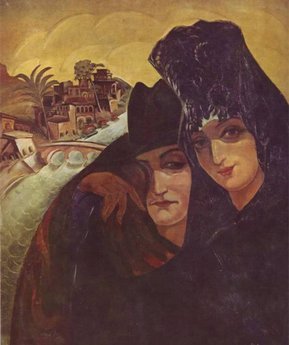 Spanish friends, 1922