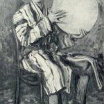 Soviet Russian artist Alexandr Vasilievich Kuprin 1880-1960