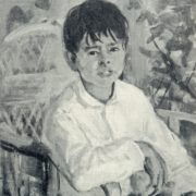 The boy Syuyar. 1958