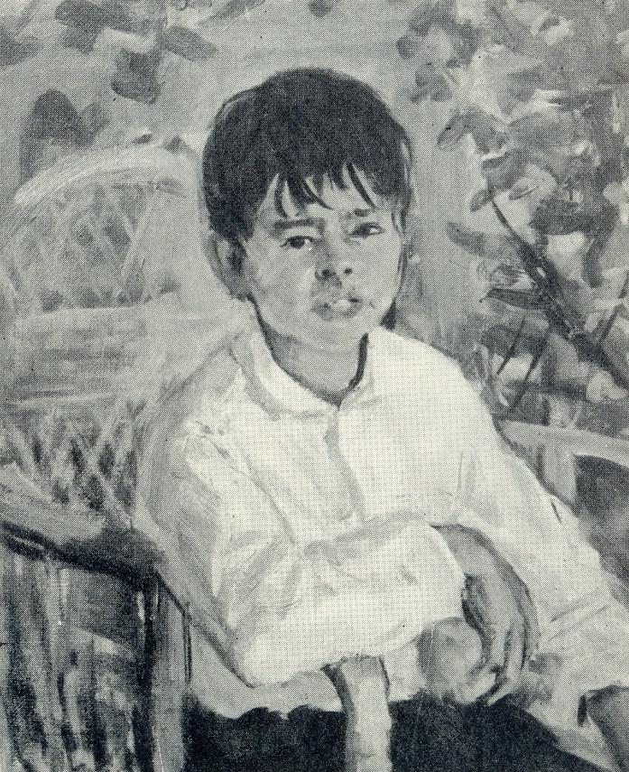 The boy Syuyar. 1958